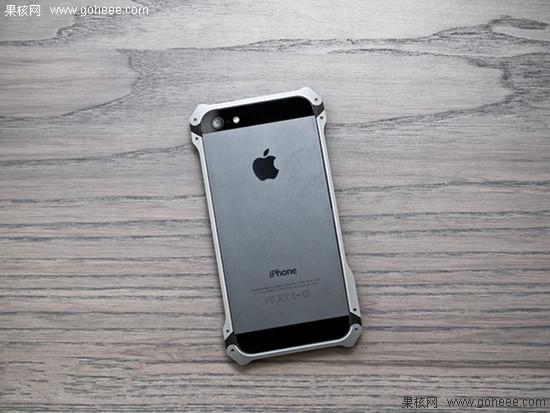 苹果5边框掉漆