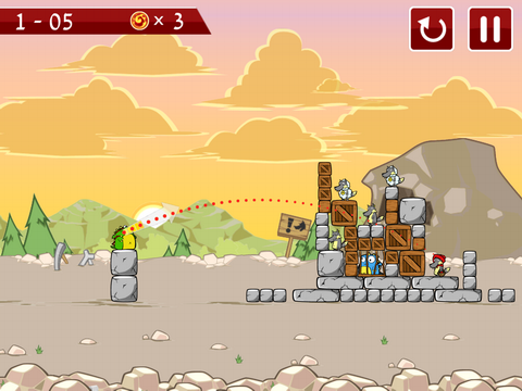 游戏的画面清新可爱,无论是超级英雄小恐龙