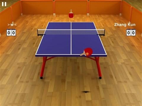 掌上小旋风:虚拟乒乓球3