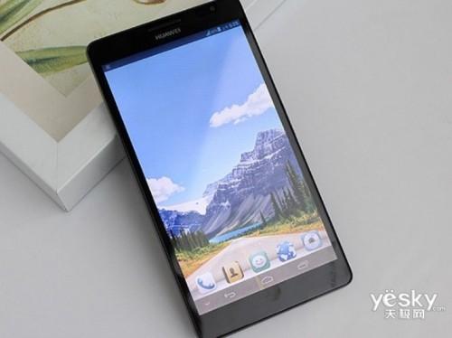 图为:华为(Huawei)Mate 3G手机-大屏先锋 华为Mate6.1寸超大屏手