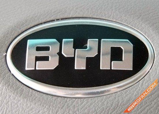 比亚迪汽车品牌标志-以后要 刷车 比亚迪将推安卓系统汽车高清图片
