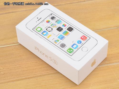 ▲联通版iPhone5S包装