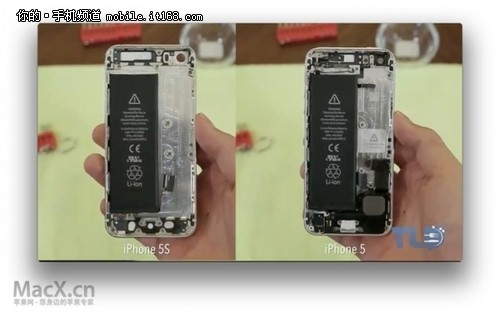 iphone5s内部结构视频遭曝光