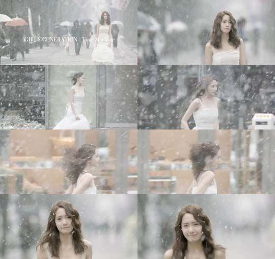 少女时代《Time Machine》MV公开 允儿穿婚纱