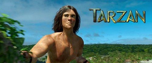 动画片《人猿泰山》发布预告片 角色动作更写实