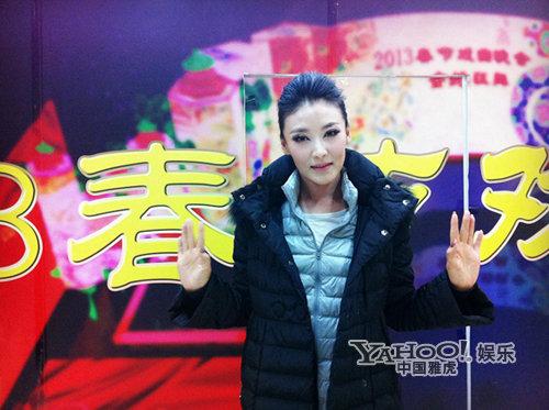 徐千雅再登春晚舞台 与沙宝亮共唱《美丽中国》
