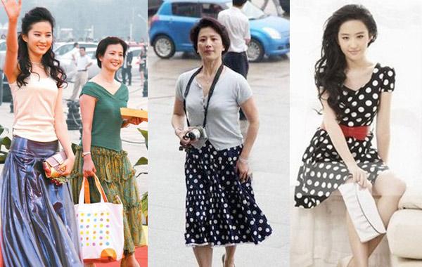 谷川萌bt_母亲节时尚盘点:明星示范母女装穿成姐妹花