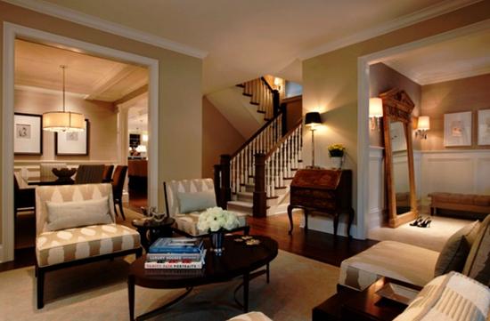 客厅秀一室一厅一卫装修案例效果图 20平米设计