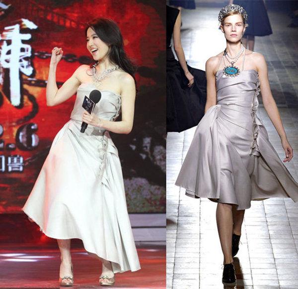 刘亦菲钢管舞视频_刘亦菲穿Lanvin跳钢管舞_时尚频道_凤凰网