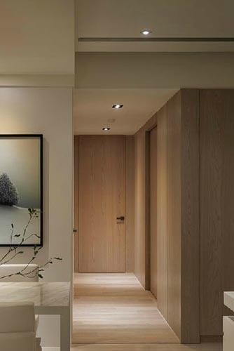 宾馆木纹装修的效果图