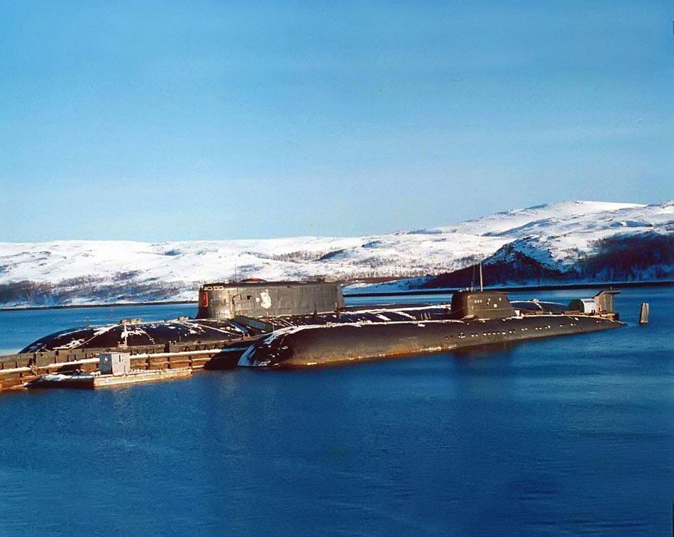 俄海军现役核潜艇主力:奥斯卡II级和维克多III级(组图)