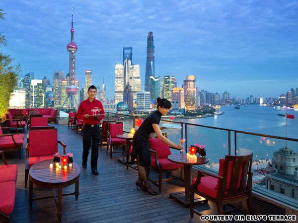 屋顶上的奇迹 世界16大天台酒吧 组图 河北频道 凤凰网