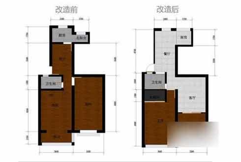 農村85平方房屋裝修圖