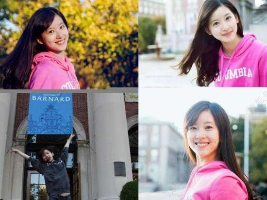 同学交换女�_学术大师vs华人美女 哥伦比亚大学的中国情缘