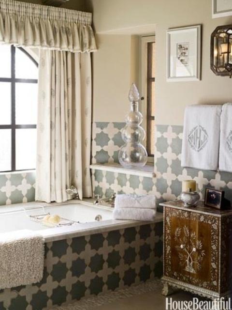 26 Bohemian Living Room Ideas: 浴室也来混搭 换种思路带来不一样的感受_家居频道_凤凰网