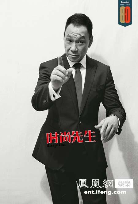 王学圻登《时尚先生》五月刊封面 展军人时代情怀