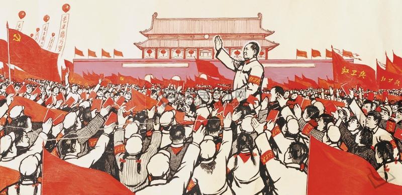 女红卫兵受刑图片_毛主席接见红卫兵 原标题:揭秘文革时期外交:红卫兵接机