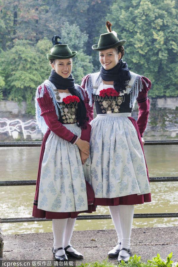 德国慕尼黑_从慕尼黑啤酒节看巴伐利亚传统服饰_宁波频道_凤凰网