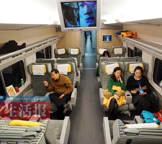 动车组一等座座位_D60动车组1等车厢座位分布图-CRH5动车组一等车厢、二等车厢分别 ...