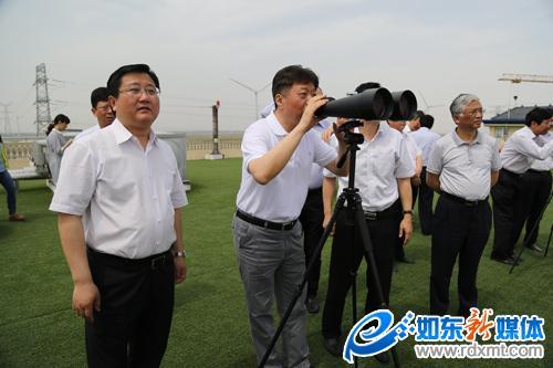 国家海洋局调研如东县海洋经济发展工作