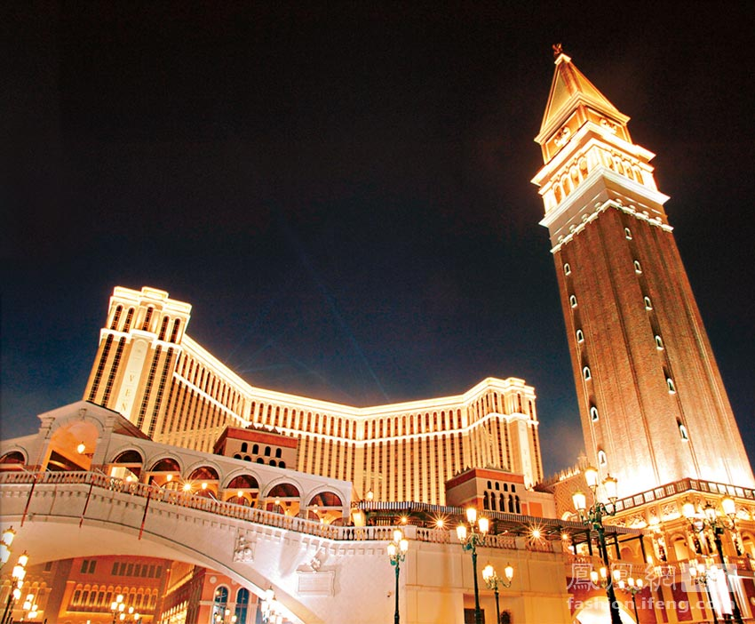 住澳门最昂贵酒店 感受世界第一赌城的魅力(高清组图)