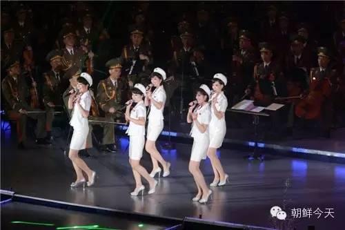 朝鲜牡丹峰乐团北京彩排 演绎中文歌《小白杨》