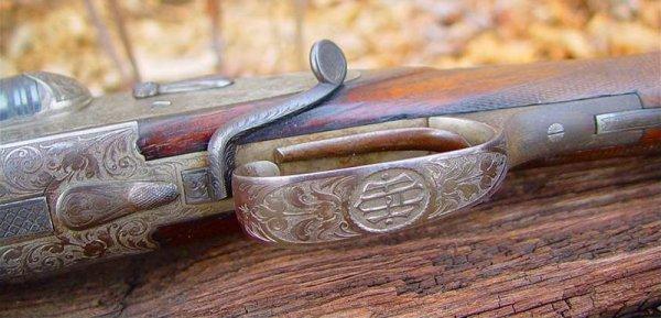 桿式獵槍扳機結構圖