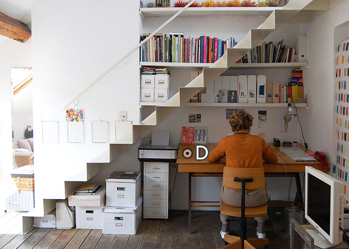 如何巧妙利用楼梯下方空间? 楼梯间装修效果图推荐 居家q Amp A第四期 凤凰家居 凤凰网