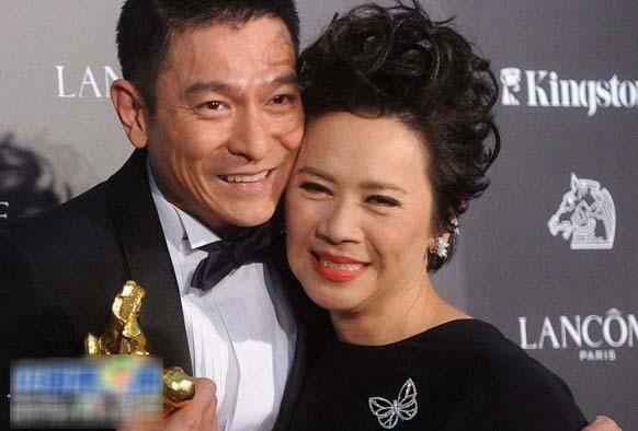 干妈和干姐_叶德娴_叶德娴年轻照片_刘德华叶德娴(2)_中国排行网